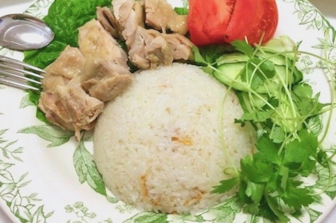 器 カオマンガイ 炊飯