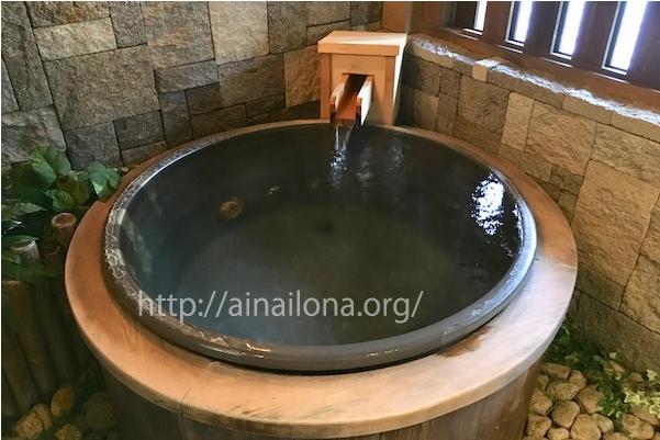 旅館みやこ・客室内の露天風呂