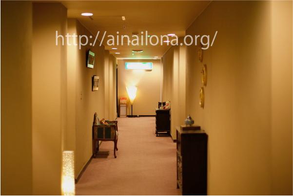 旅館みやこ・館内廊下