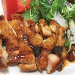 鶏の照り焼き黒酢風味