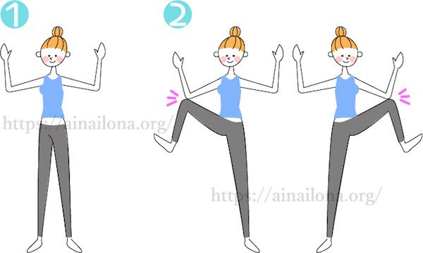 神経ビンビン(くねくね)体操・がにがに体操