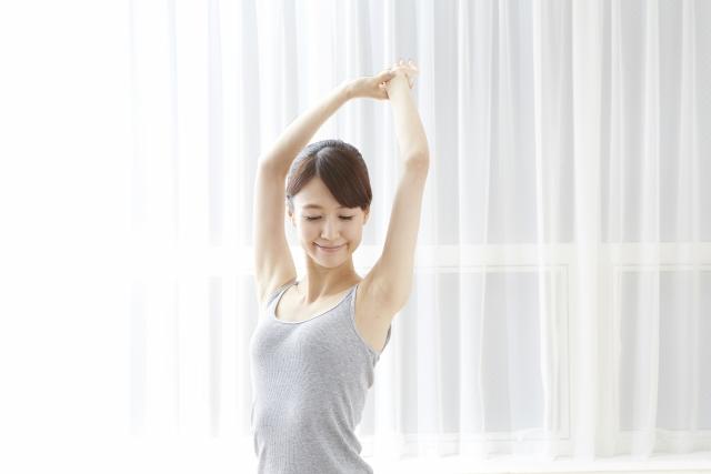 簡単5秒筋トレで二の腕・お尻・太ももの部分痩せに効果