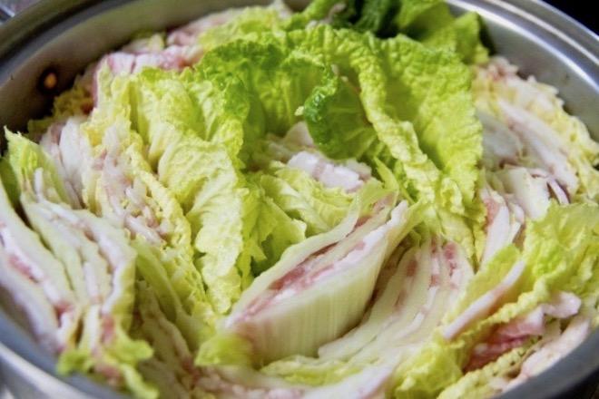 やせおか・白菜と豚肉のミルフィーユ