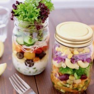 男子ごはん・彩り野菜のカップサラダ(ジャーサラダ)のレシピ
