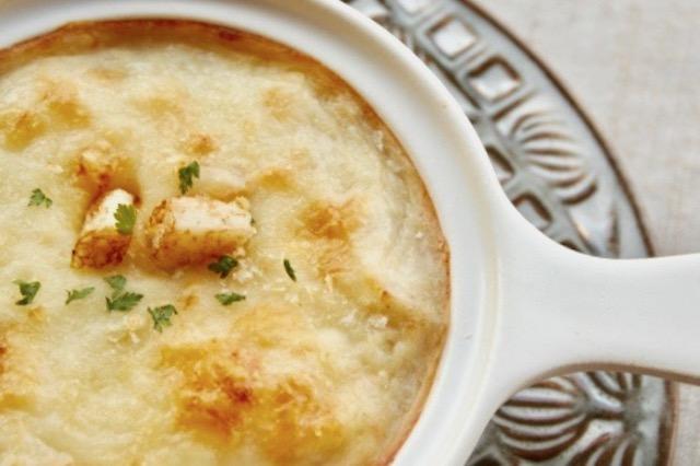 フライパンひとつで作るマカロニグラタンのレシピ