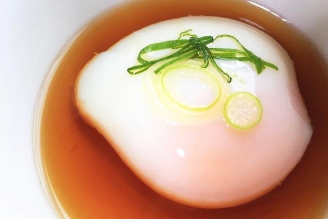 5分で簡単・温泉卵の作り方