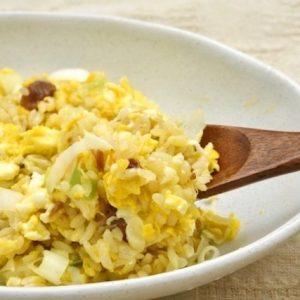 世界一美味しい・卵とネギのチャーハンのレシピ