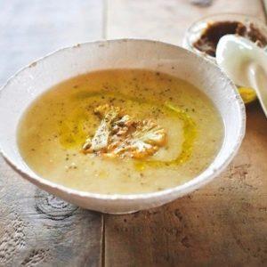 サラダチキンと野菜のスープのレシピ